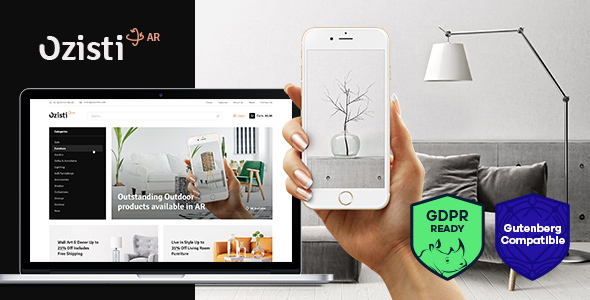Ozisti A Multi-Concept WooCommerce WordPress Theme Augmented Reality Store Ready